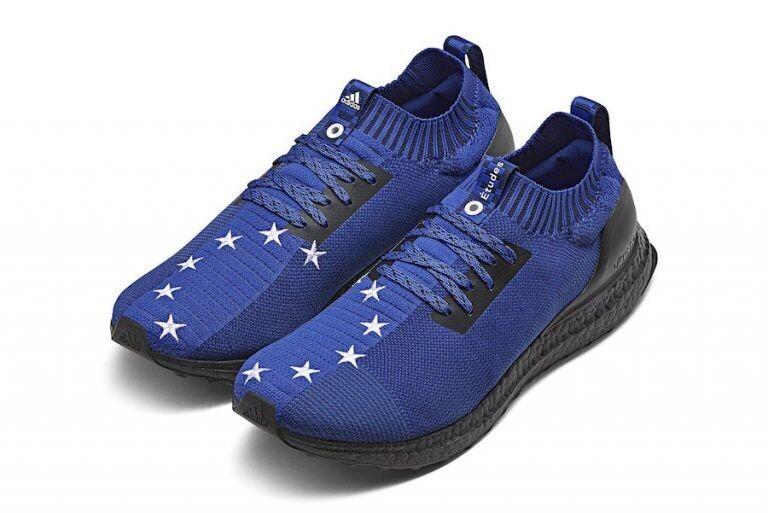 Études x Adidas Ultra Boost euro Bandera Estrellas Estrellas Bandera Azul SZ 9.5 D97732reigning Champ ddecf5