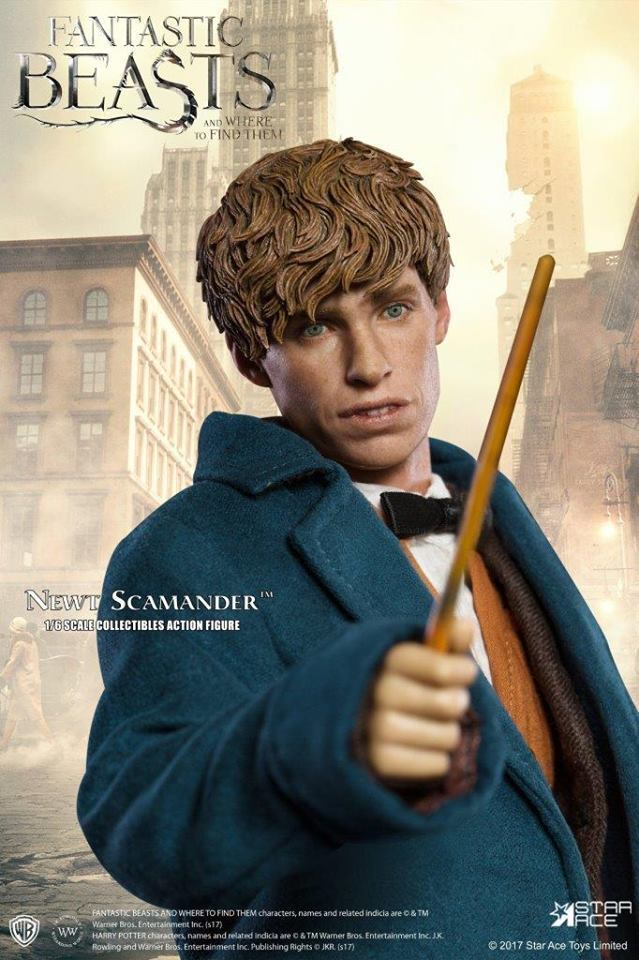 Star Ace Newt Scamander Fantastic Beasts and Where to Find Them 1:6 fig SA-0047
