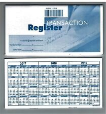 deluxe checking checkbook transaction register ebay
