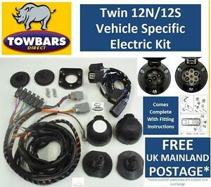 twin 7 pin towbar wiring kit for land rover discovery 3. Black Bedroom Furniture Sets. Home Design Ideas