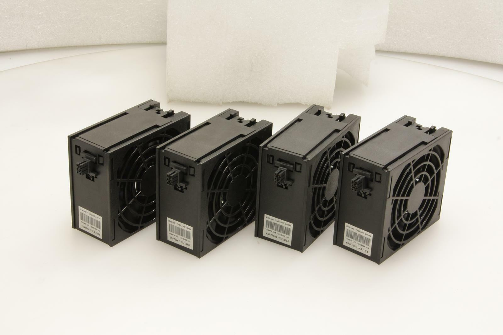 LOT OF 4 IBM 39M2693 xSeries 80mm Cooling Case-Fan Assy.TESTED.SKU194271