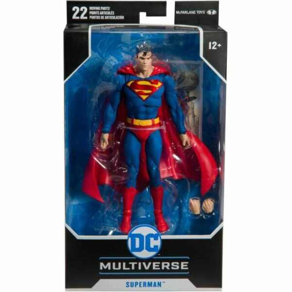 environ 15.24 cm DC Multi-Univers Figurine McFarlane 6 in Superman animated series