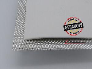 Kalotte Hitzeblech 1000 x 500 mm mit Hitzeschutz Keramik Matte 5mm bis 1400 Grad