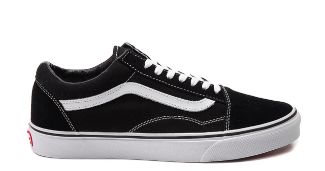 Mens VANS Old Skool Canvas Black White Vn000d3hy28 US 6