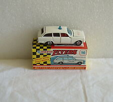 NIB 60's LONE STAR DIECAST FLYERS MOTORWAY POLICE CAR #16 ~NEW OLD STORE STOCK