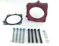 Red Throttle Body Spacer Fit 09-15 Dodge Ram 1500 2500 3500 Pickup Hemi 5.7l V8