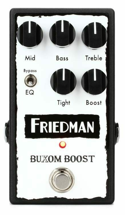 BRAND NEW Friedman Buxom Boost Booster Effects Pedal Free USA Shipping