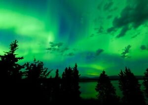 Awesome-Northern-Lights-Poster-Print-Size-A4-A3-Nature-Art-Poster-Gift-8579