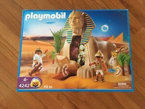 Playmobil-4242-Sphinx-with-mummy-complete
