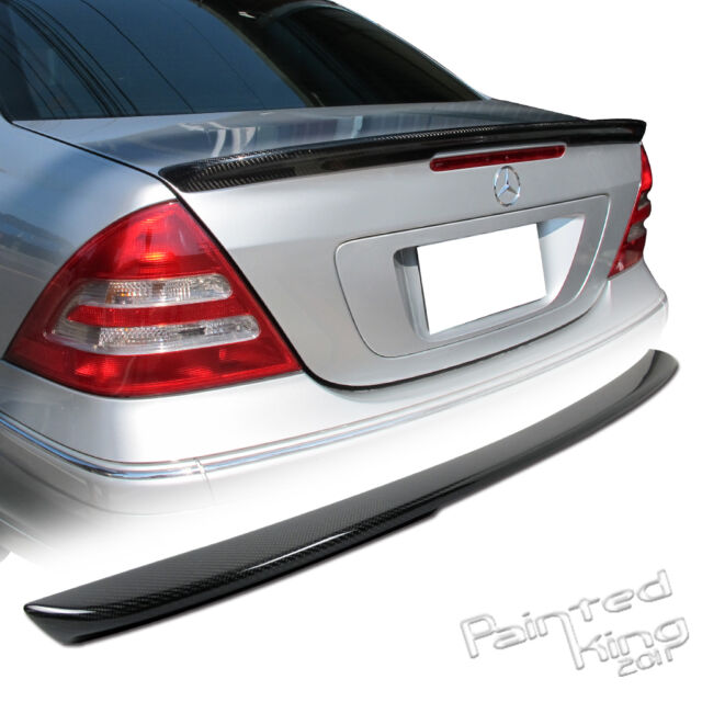 Stock in LA!CARBON FIBER Mercedes-Benz C-Class W203 A TYPE TRUNK SPOILER