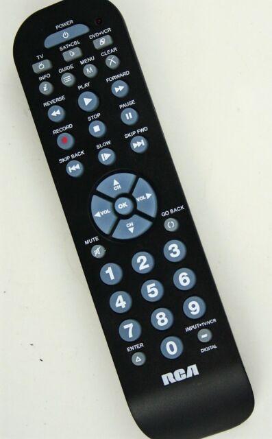 Rca 3 in 1 universal remote programming & remote codes for tv.
