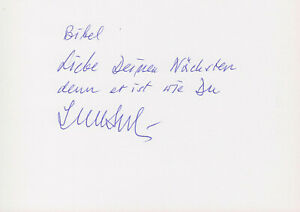 IGNAZ BUBIS --- original signiert - A3#15a