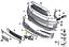Genuine-Mini-JCW-GP2-R56-delantero-freno-conducto-de-aire-toma-de-Parachoques-Parrilla-Izquierda miniatura 4