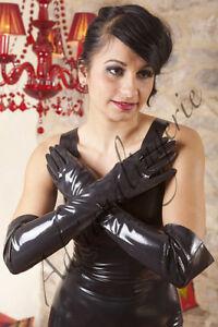 Gants-Longs-Mixte-en-Latex-Rubber-Unisex-Elbow-Gloves-Gummi-Handschuhe
