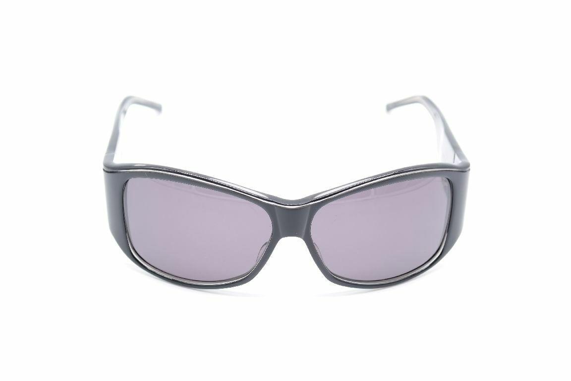 Christian Roth Cr 14204 BK 60 15 Black Oval Sunglasses New