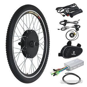 """Kit Vélo Electrique Avant 1000W 48V 26"""" Moteur Brushless Contrôlleur DIY Sport"""