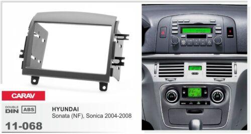 Radioblende Set  HYUNDAI NF Sonata Sonica 2004 11-068-14-1