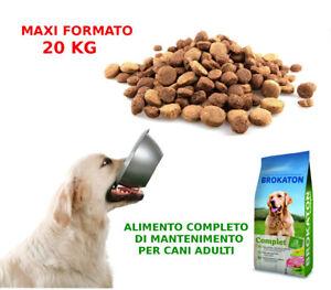 Cibo Per Cani Crocchette Mangime Alimento Completo Per Cane 20 Kg