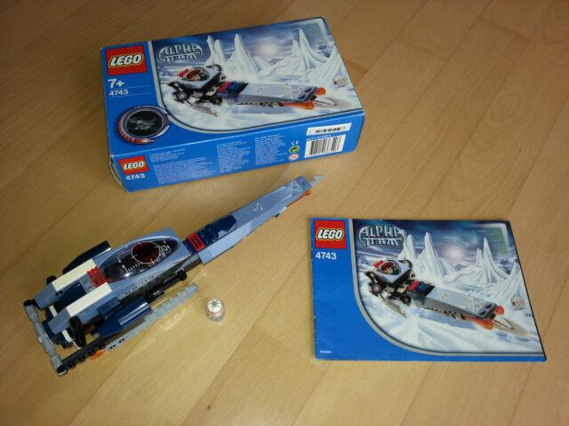 Lego® Alpha Team 4743 - Ice Blader / Rar mit OVP und BA 100%