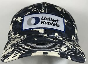 Details about United Rentals Digital Camo Cap Adjustable Hat Employee Digi  Camouflage Army