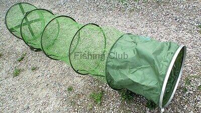 2,60m großer Setzkescher mit Erdspieß Setz Kescher Reuse Fischnetz 260075