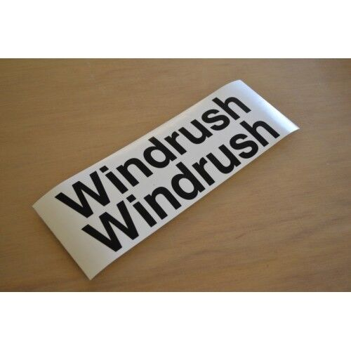 Cotswold Windrush S3 Caravana Pegatinas con nombre Calcomanías Gráficos-Par