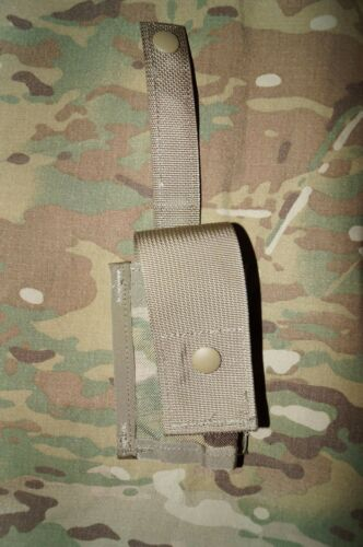 Grenade Pouch Flashlight Military NEW 40mm MOLLE II Single MULTICAM Pattern C5