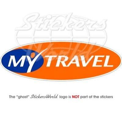 "Nice My Travel Compagnie Aeree Linee Adesivo In Vinile 200mm/8"" Sticker"