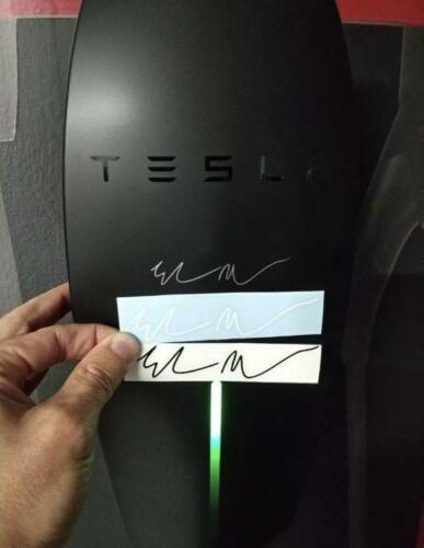 Door Window Wall Elon Musk Signature Car PC Vinyl Sticker Bumper