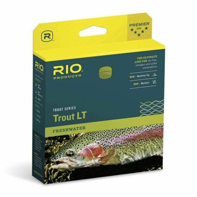 Rio Gold Tournament Fly Line with 200 yards of 20lb Dacron Backing and free ship