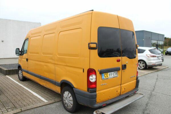 Opel Movano 2,5 CDTi 100 Kassevogn L3H2 - billede 1