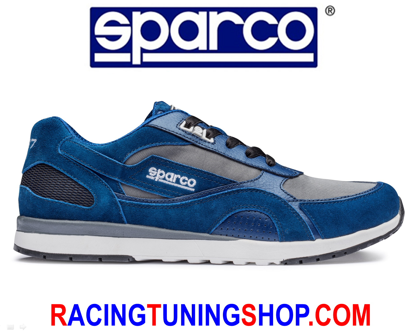 shoes SPARCO SH-17 blue - SPARCO TEAMWEAR SHOES SNEAKERS EU 41 SCHUHE WOMAN MAN