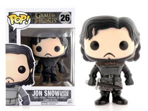 Game of Thrones Jon Snow Castle black Pop Funko Vinyl Figure n° 26
