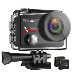 Details about Campark X30 4K/60fps Action Camera Wifi 20MP Sports 40M  Waterproof EIS Video Cam