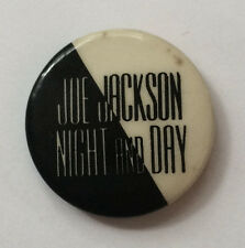 "Vintage 1982 JOE JACKSON Promo pinback button pin badge 80s Night & Day 1"""