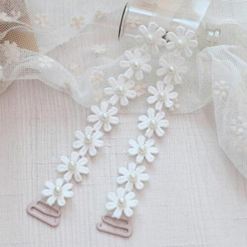 Flower silicone transparent Invisible Bra underwear Shoulder Strap Adjustable