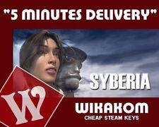 SYBERIA PC Steam Key Codice download nuovi inviati Fast Regione Libero