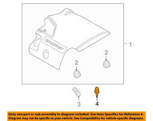 details about lincoln ford oem mkt engine appearance cover engine cover mount stud bt4z6n958a 2013 Lincoln Mkt Engine Diagram 2017 lincoln mkz new car review