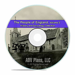 England-Vol-2-People-Cities-Family-History-and-Genealogy-218-Books-DVD-CD-B32