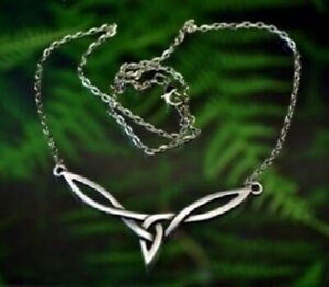 Pewter-Celtic-Knot-Necklace-with-chain-Made-in-USA