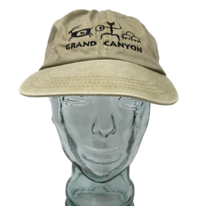 Cotton-Deluxe-Hats-Grand-Canyon-Baseball-Cap-Beige-Embroidered-OSFM-Strap-Back