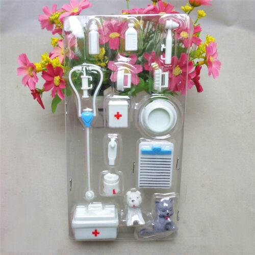 14X Mini Medical Equipment Toys For Doll Accessories Set stylish Great