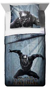 Black-Panther-Twin-FULL-Comforter-amp-Sham-or-Sheet-Set-Bedding-Bedroom-Boys