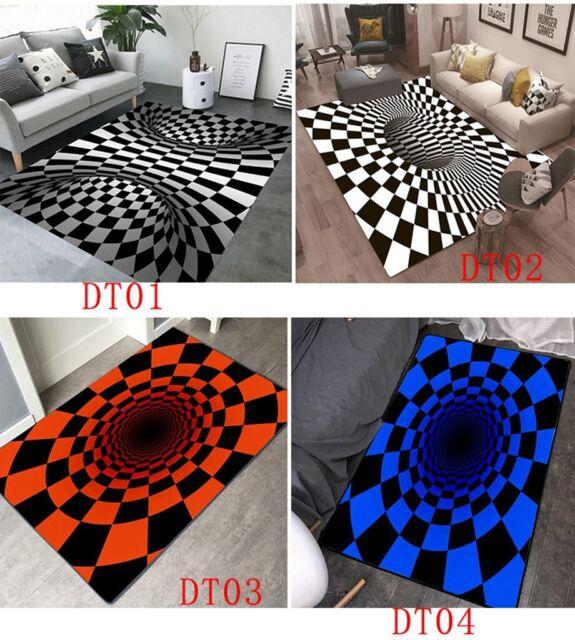Premium 8x10 Ft Non Slip Area Rug Hard Surface Floor
