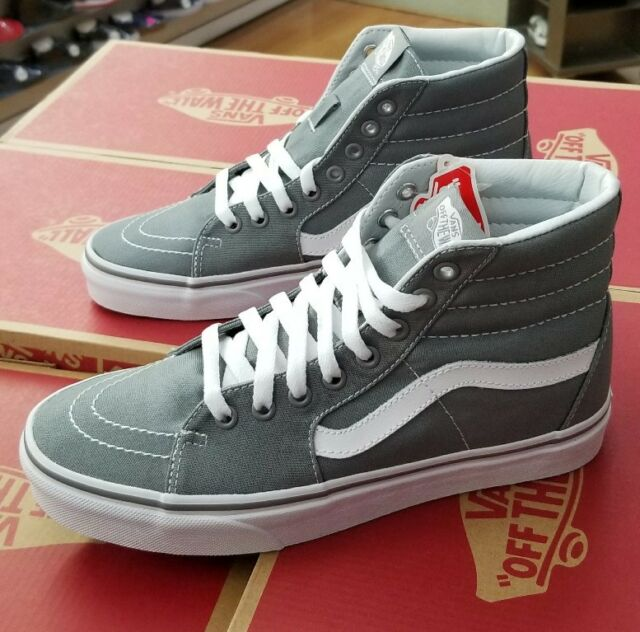 6403504381 Frequently bought together. VANS SK8-HI CANVAS FROST GREY VN000TS9L5O MEN  ...