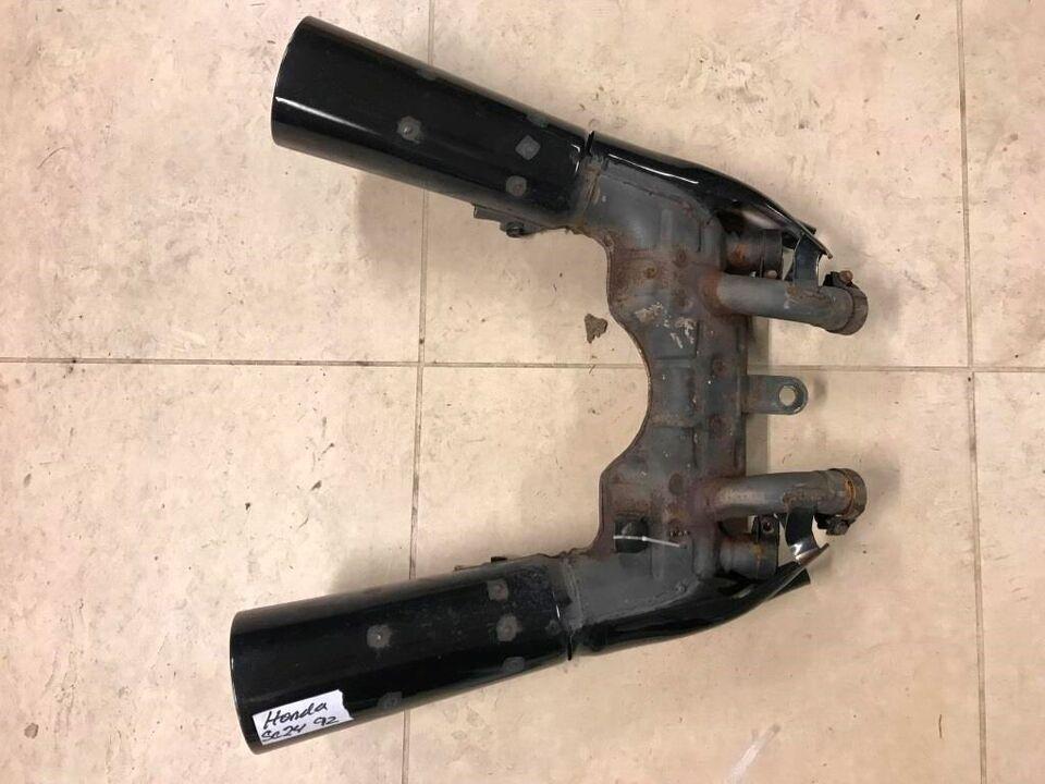 Honda CBR 1000 F årg. 1994 Udstødning