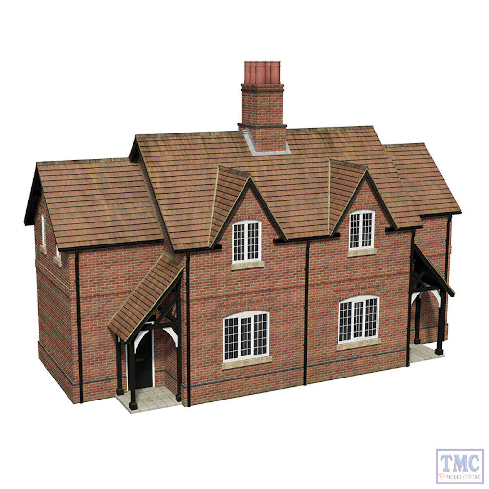 44-0098 Scenecraft OO Gauge Estate Cottages