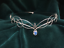 Bridal-Tiara-Circlet-with-Opalite-Moonstone-Headpiece-Medieval-Elven-Wedding thumbnail 1