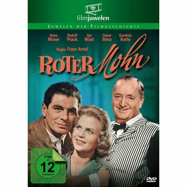 DVD Neuf - Roter Mohn-mit Hans Moser Un