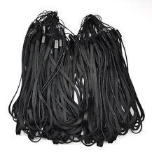 100 Pcs Black wrist Strap Lanyard for Cell Phone Mp3 DC Black